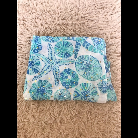da84fb9093529f Lilly Pulitzer Accessories - Lilly Pulitzer for target sea urchin for you  scarf